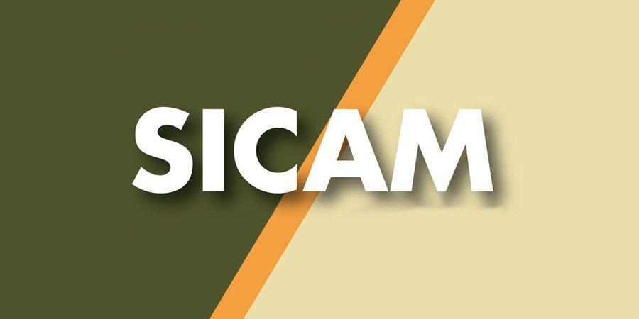 Logo SICAM - Salone Internazionale Componenti, Semilavorati e Accessori per l'Industria del Mobile