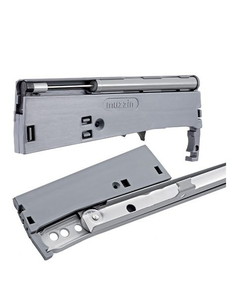 Optional rollersoft - Soft system for drawer slides with roller wheels.